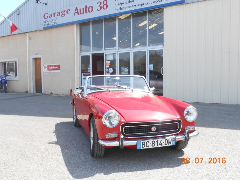 Mg midget garage auto 38 for Garage auto grenoble