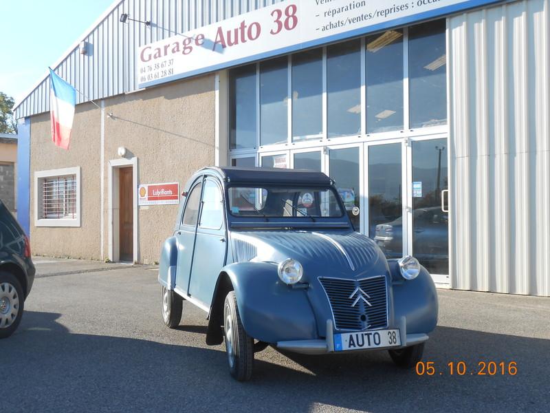 Restauration voiture ancienne 2cv garage auto 38 for Garage auto grenoble